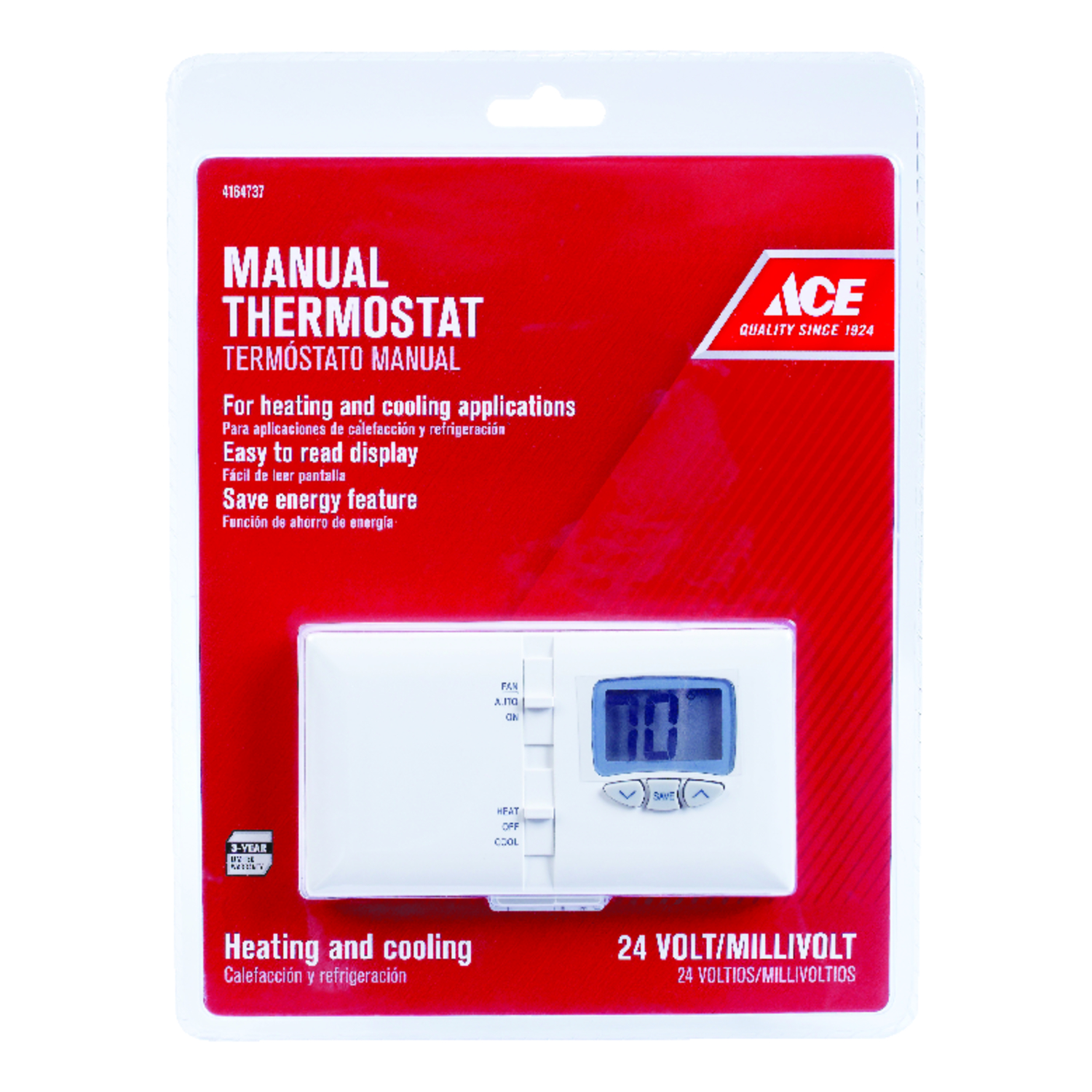 ace heating and cooling lever programmable thermostat ace hardware rh acehardware com Honeywell Digital Thermostat Wiring Diagram HVAC Low Voltage Wiring