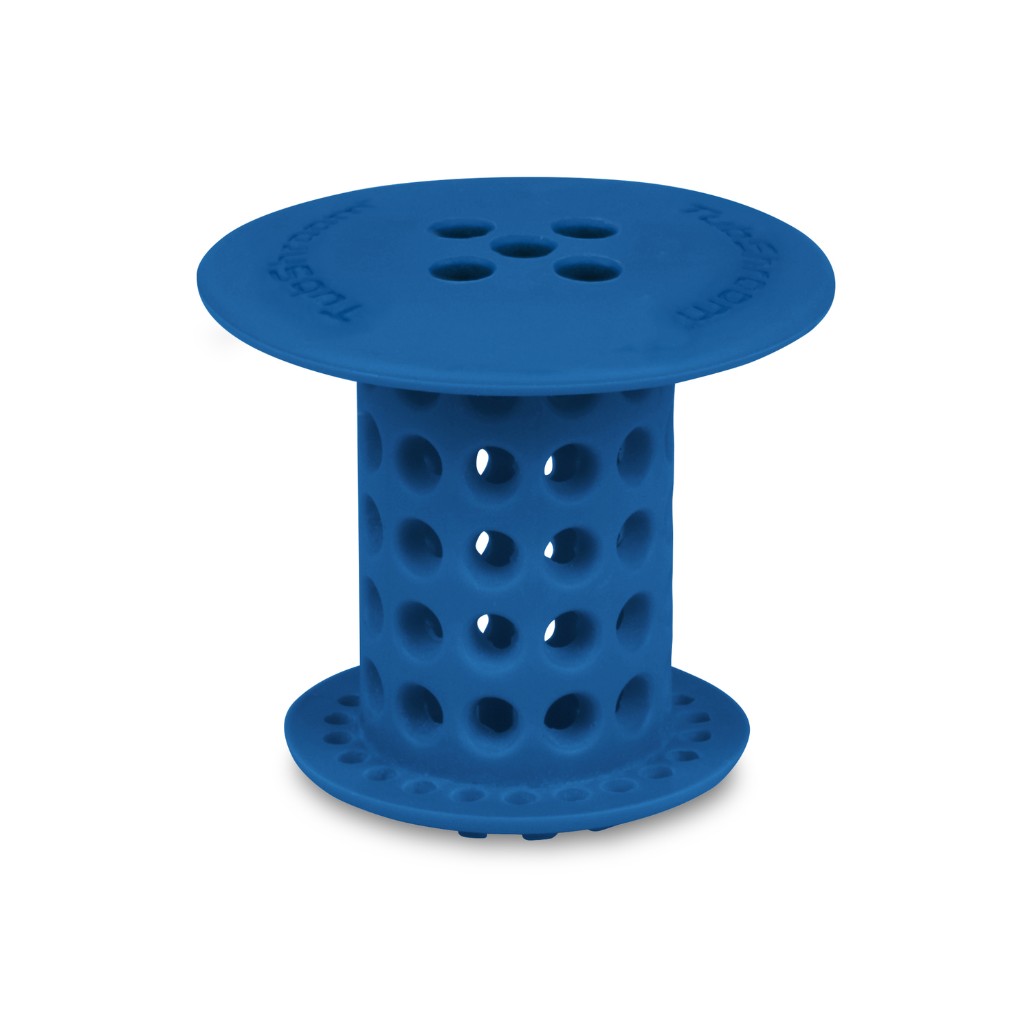 Tub Shroom  1-1/2 in. Blue  Silicone  Round  Drain Hair Catcher