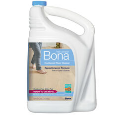 Bona Free & Simple No Scent Hardwood Floor Cleaner Liquid 160 oz.