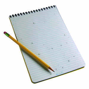 Rite In The Rain  All-Weather  6 in. W x 9 in. L Spiral  Notebook