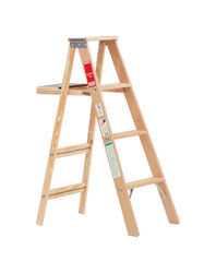 Michigan Ladder 48 in. H Wood Step Ladder Type III 200 lb.