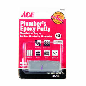 Ace  Gray  Plumbers Putty  1.33 oz.