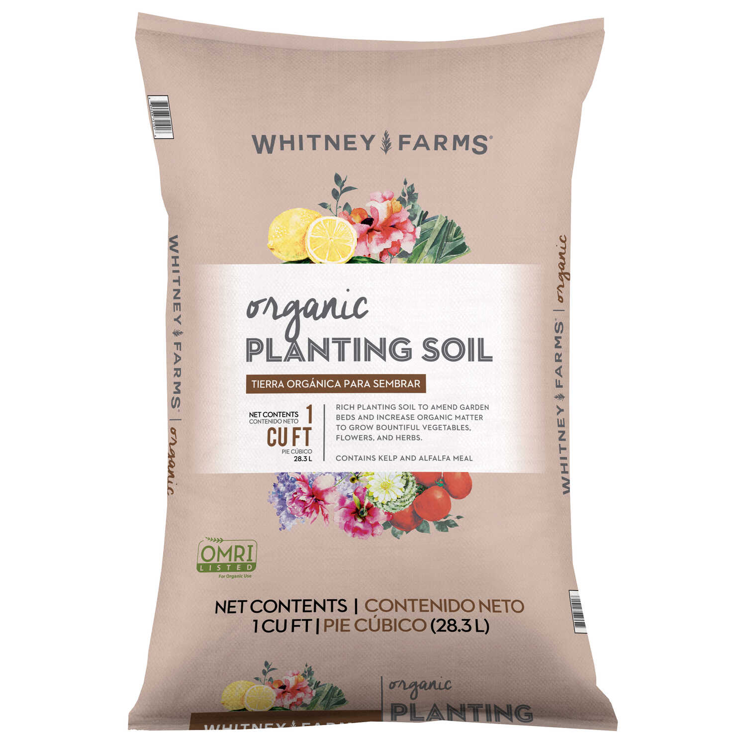 Whitney Farms  Planting Soil  1 cu. ft. Organic