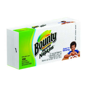 Bounty  Napkins  100 sheet 1 Ply 1 pk