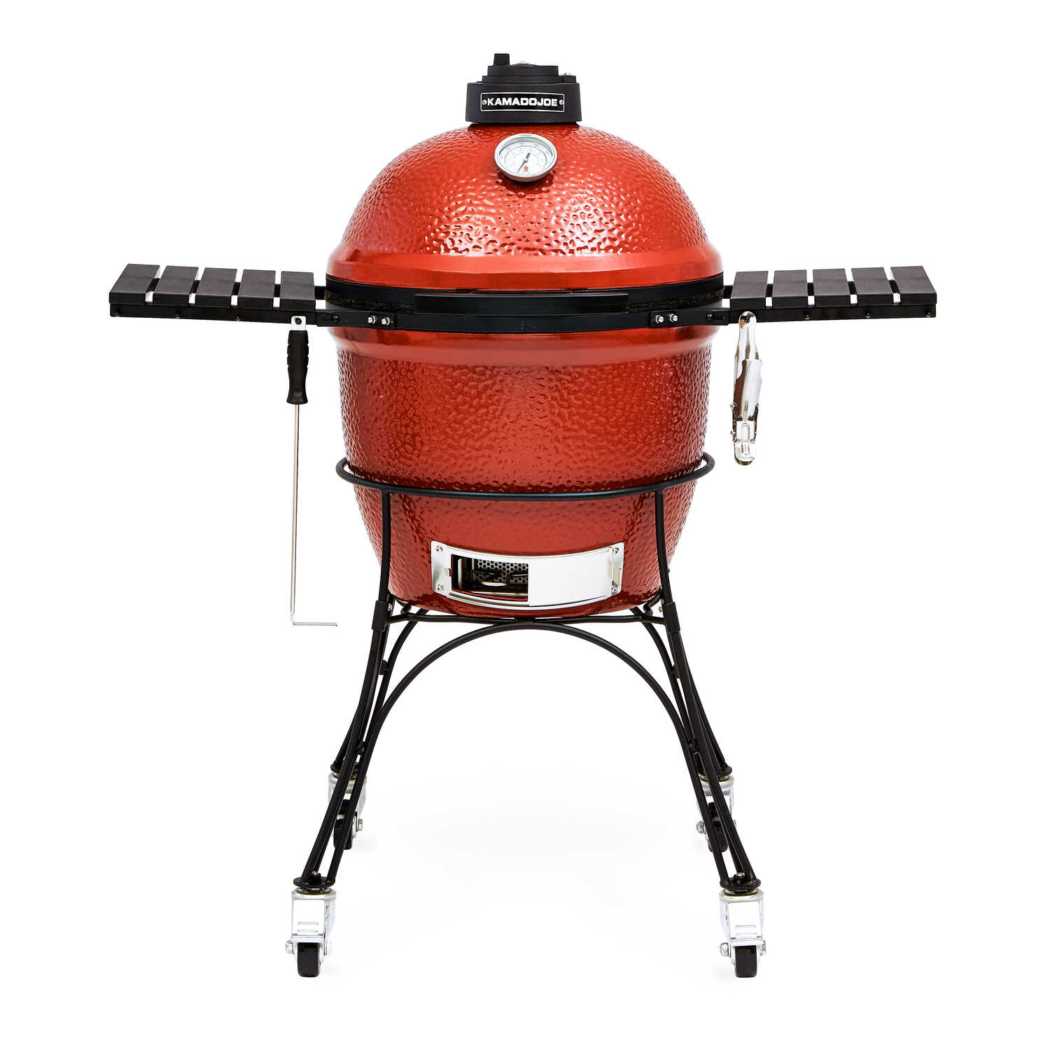 Kamado Joe  Classic I  46.5 in. W Red  Charcoal  Grill