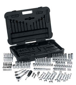 Craftsman  3/8 in.  x 1/4 in. drive  SAE  6 Point Mechanic�s Tool Set  168 pc.
