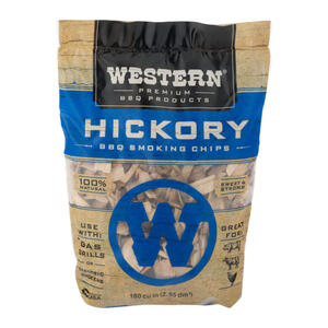Western  Hickory  Wood Smoking Chips  180 cu. in.