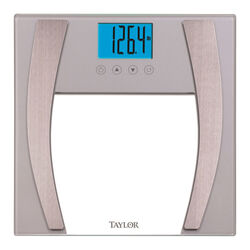 Taylor 400 lb. Digital Bathroom Scale Silver