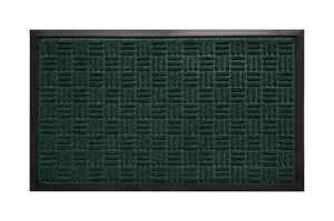 Bacova Guild  Saver II  Green  Rubber  Nonslip Floor Mat  36 in. L x 24 in. W