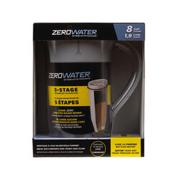 ZeroWater  64 oz. Clear  Water Filtration Pitcher