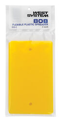 West System 3-1/2 in. W x 6 in. L Yellow Plastic Smoother/Spreader