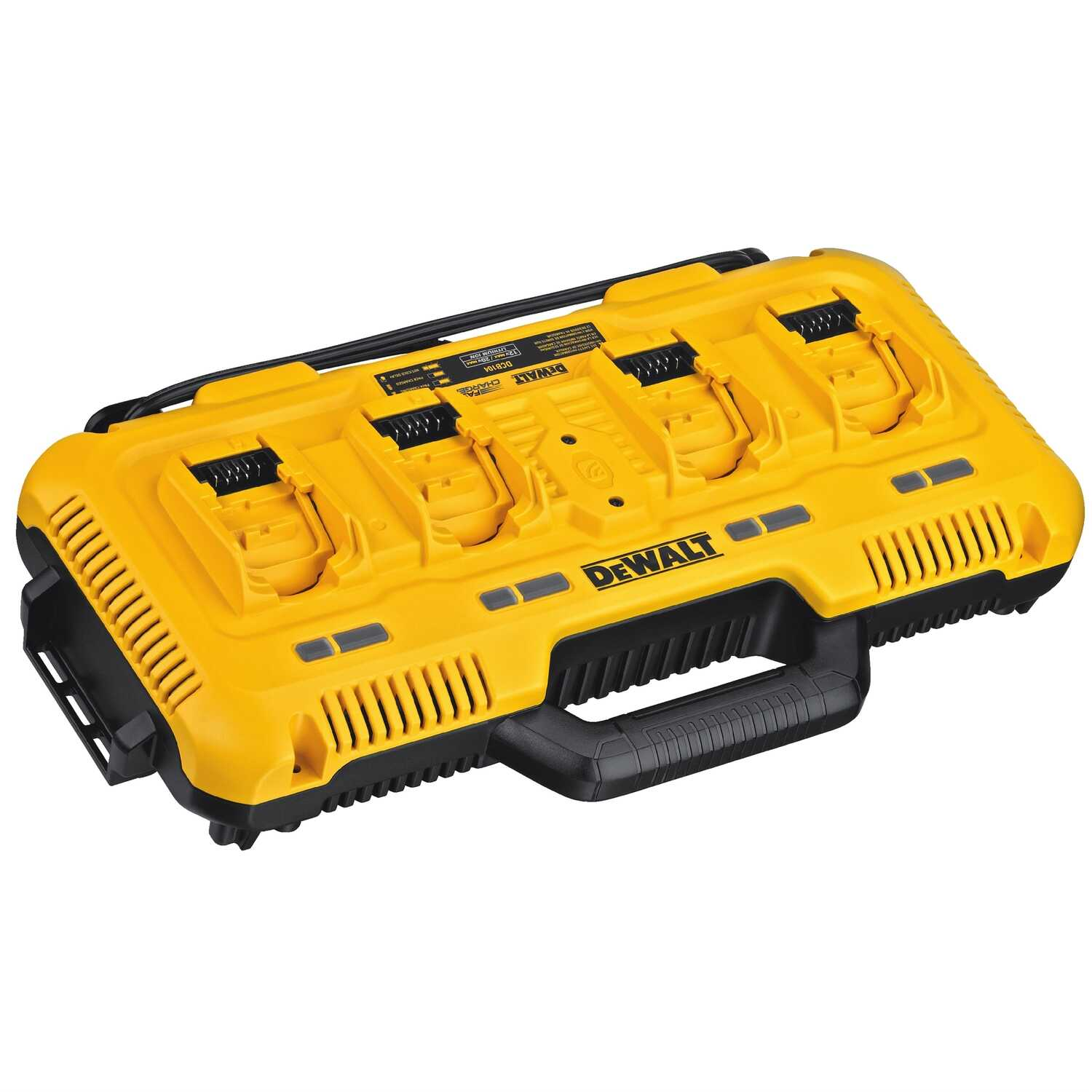 DeWalt  20 volt Lithium-Ion  4-Port Fast Charger  1 pc.