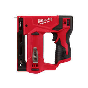 Milwaukee  M12  3/8 in. D-Handle  Red  Crown Stapler