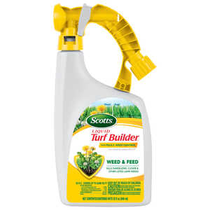 Scotts  Turf Builder  25-0-2  Weed and Feed  For All Grass Types 32 oz.