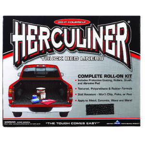 Herculiner  Black  1 gal. Truck Bed Coating Kit
