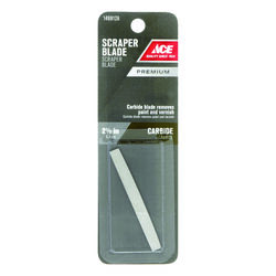 Ace  2-1/2 in. W Tungsten Carbide  Double Edge  Scraper Blade