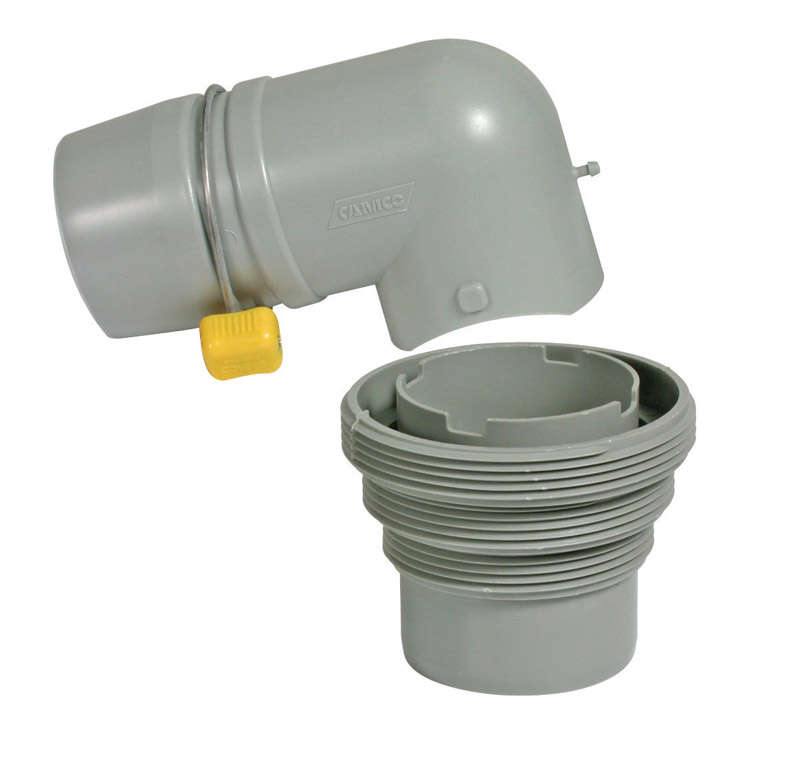 Camco  Easy Slip  Sewer Adapter  3 pk