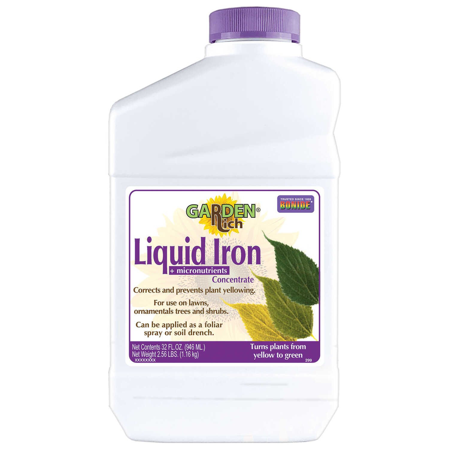 Bonide Liquid Iron Plus 0-0-0 Mineral Supplement For All