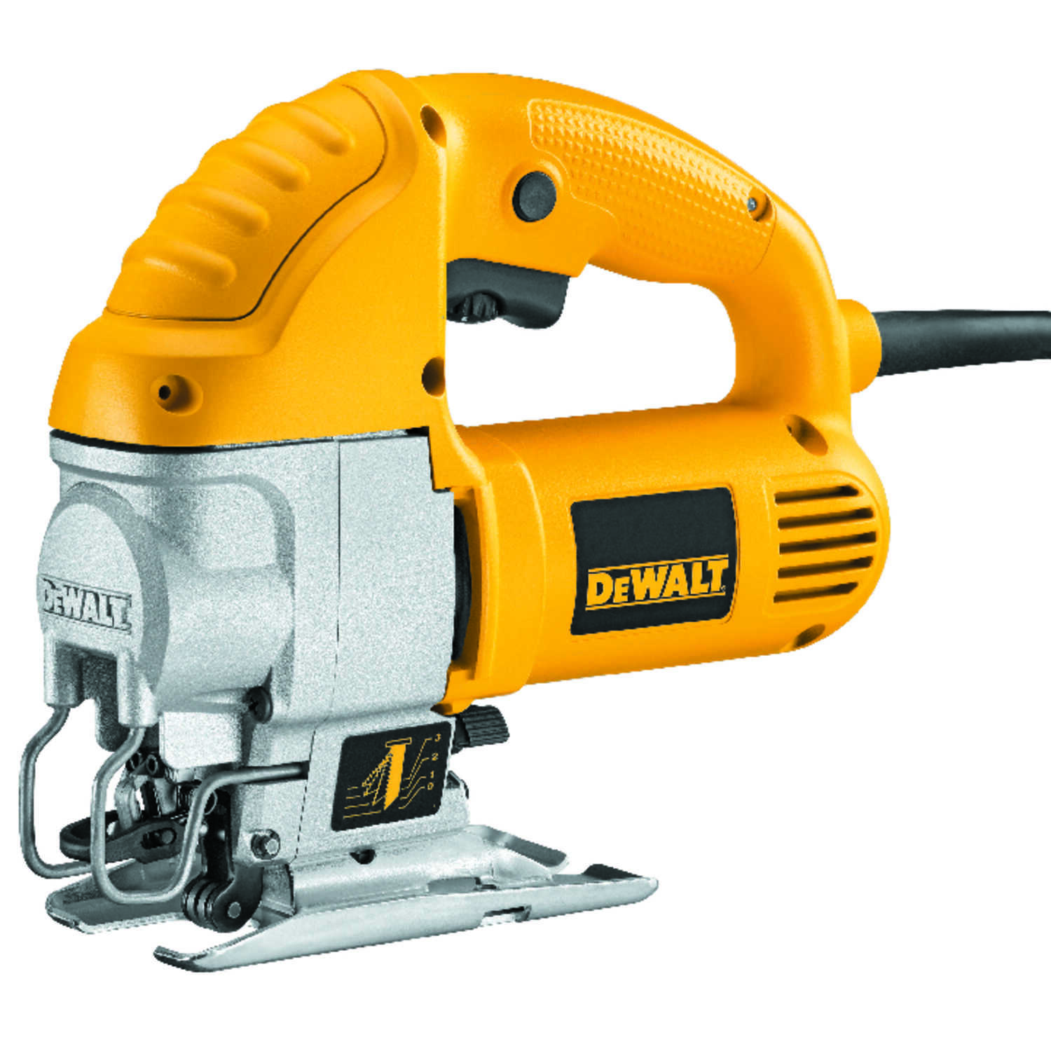DeWalt  1 in. Corded  Keyless 120 volts 5.5 amps 0-3,100 spm Orbital Jig Saw