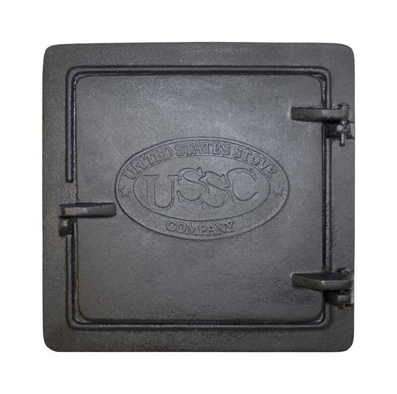 United States Stove  Cast Iron  Elegant  Chimney Cleanout Doors