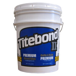 Titebond  II  Clear to Light Yellow  Wood Glue  5 gal.