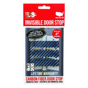 Invisible Door Stop  Metallic  Carbon Fiber  Door Stop