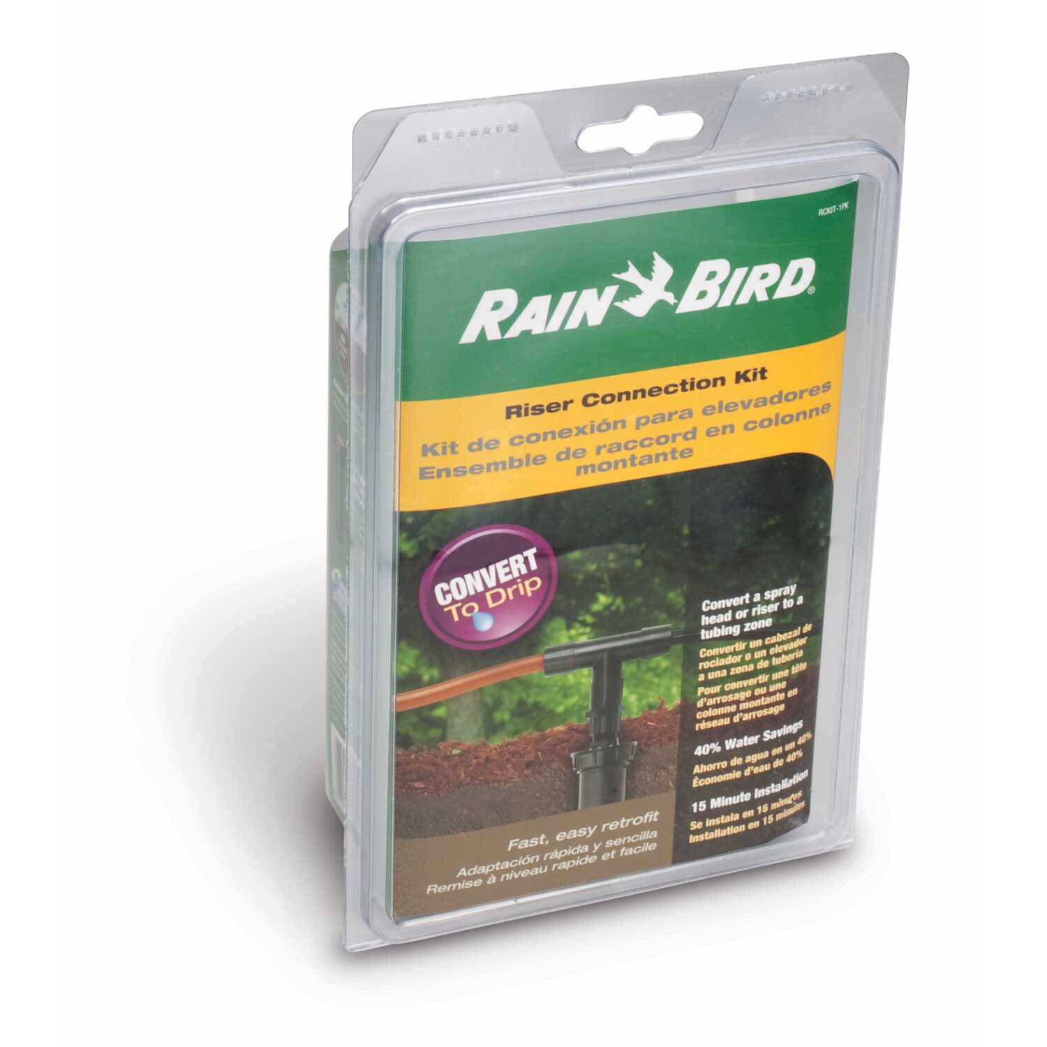 Rain Bird Drip Irrigation Riser Connection Kit - Ace Hardware