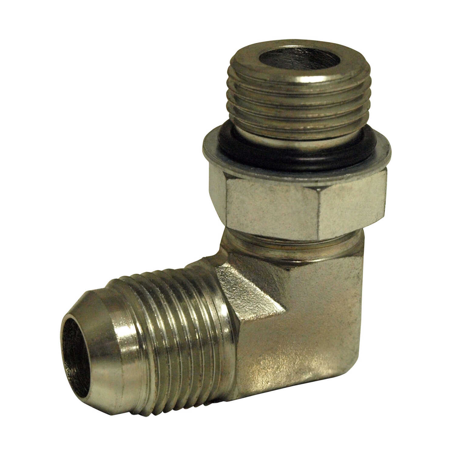 Apache  Steel  Hydraulic Adapter  3/8 in. Dia. x 1/2 in. Dia. 1 pk