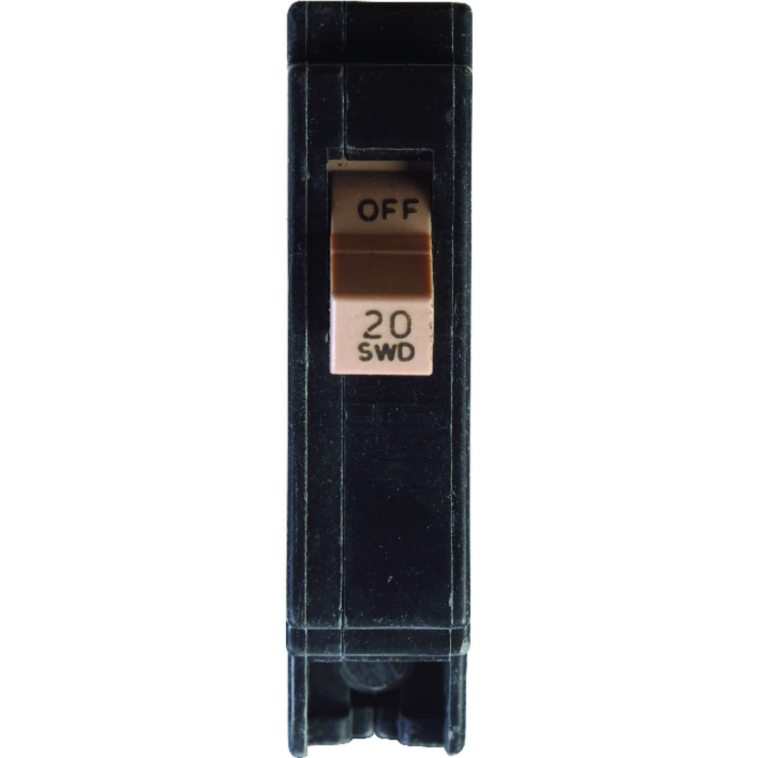 Eaton  20 amps Plug In  Single Pole  Circuit Breaker