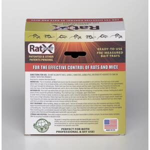 RatX  Non-Toxic  Bait  Pellets  For Mice and Rats 12 oz. 4 pk