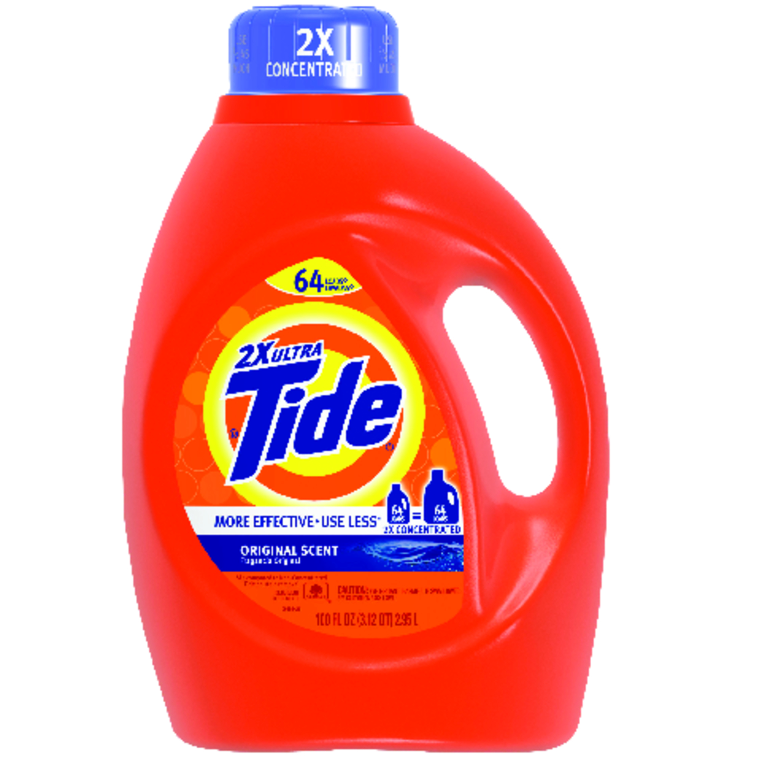 Tide  Original Scent Laundry Detergent  Liquid  100 oz.