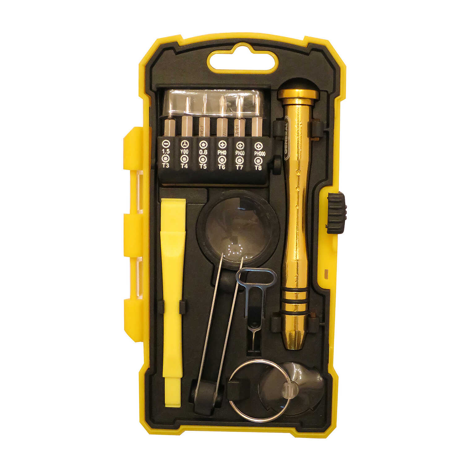 General Tools  - in. Multi-Bit  Screwdriver Repair Kit