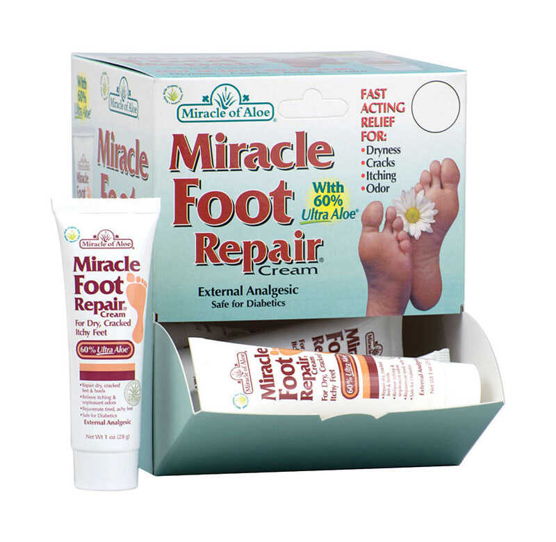 Miracle of Aloe  1 oz. 12 each Aloe Foot Gel