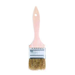 Linzer  2 in. W Flat  White China Bristle  Paint Brush