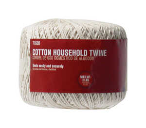 Ace  200 ft. L Twisted  Natural  Twine  Cotton