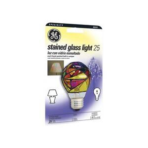 GE  25 watts A19  A-Line  Incandescent Bulb  E26 (Medium)  Soft White  1 pk