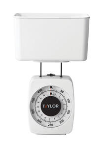 Taylor  White  Analog  Food Scale  1 lb.