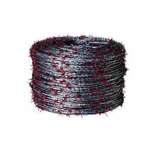 Red Brand  1320 ft. L 15 Ga. 2-point  Galvanized Steel  Barbed Wire