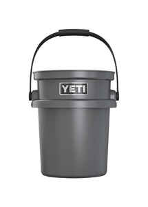 YETI  LoadOut  5 gal. Bucket  Charcoal