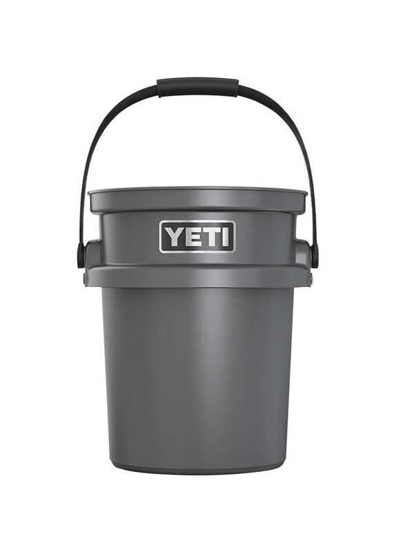 YETI  LoadOut  5 gal. Bucket  Black