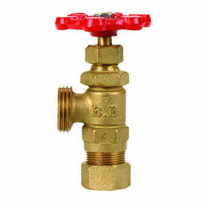 BK Products  Cast Iron  Boiler Drain Valve