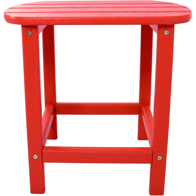 Hanover  Square  Red  All Weather Collection  Side Table