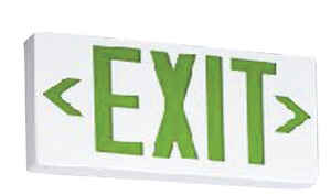 Lithonia Lighting  Thermoplastic  Indoor  LED  Lighted Exit Sign