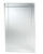 Zenith  26.38 in. H x 16 in. W x 4-1/2 in. D Rectangle  Medicine Cabinet