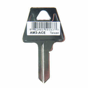 Ace  House/Office  Key Blank  Single sided For American Lock