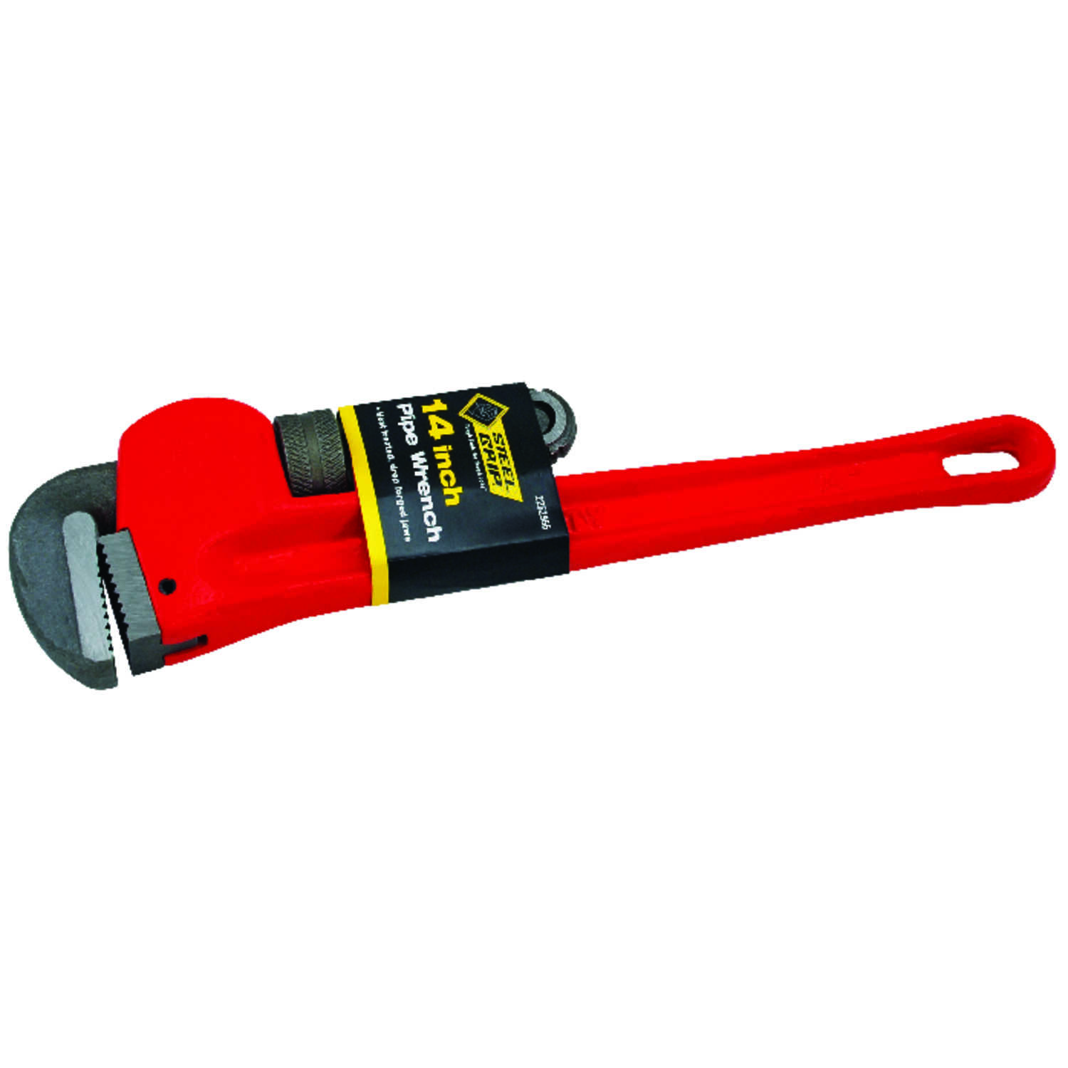 Steel Grip  Pipe Wrench  14 in. 1 pc. Cast Iron