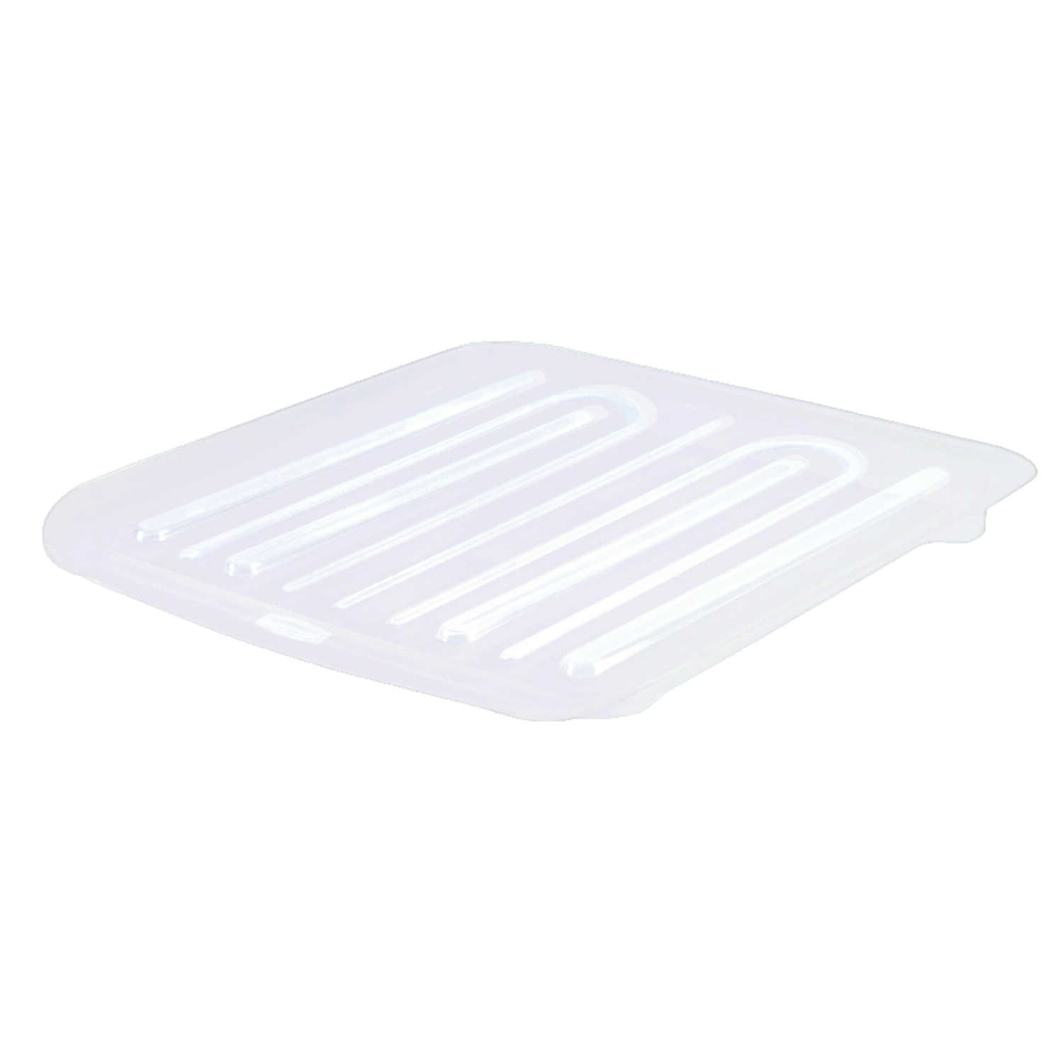 Rubbermaid  1.3 in. H x 15.3 in. W x 14.3 in. L Plastic  Dish Drainer  Clear