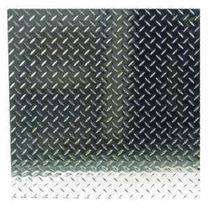 Boltmaster  1/16 in.  x 24 in. W x 24 in. L Bright  Aluminum  Diamond  Tread Plate