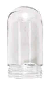 Carlon  Cylindrical  Clear  Glass  Globe  1 pk