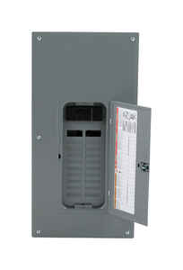 Square D  HomeLine  200 amps 120/240 volt 20 space 40 circuits Combination Mount  Main Breaker Load